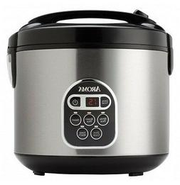 Countertop Rice Cooker Steamer Crock Pot Food Warmer Digital