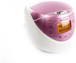 Cuckoo CR-0631F Rice Cooker, 6 Cups Uncooked , Pink