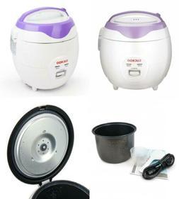 Cuckoo CR-0671V Rice Cooker, 3 Liters / 3.2 Quarts, Violet/W