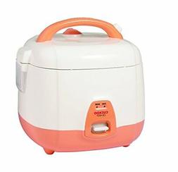 Cuckoo CR-0331 3 Cup Electric Heating Rice Cooker, 110V, Ora