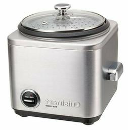 Cuisinart CRC-400P1 CRC-400 Rice Cooker, 4-Cup, Silver 4-Cup