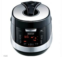 Cuckoo CRP-HN1059F 10 Cup Pressure Rice Cooker, 110V, Black