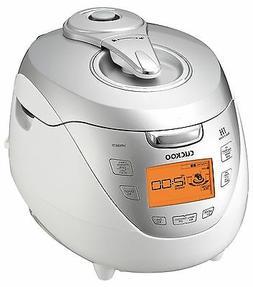 Cuckoo CRP-HR0867F IH 8 Cups Pressure Rice Cooker, Silver, 1