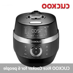 CUCKOO CRP-JHR0660FD 6 Cups 220V Electric Rice Cooker for 6
