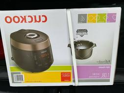 Cuckoo CRP-P0609S 6 Cup Electric Pressure Rice Cooker Black