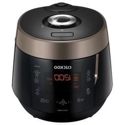 "Cuckoo CRP-P0609S Rice Cooker 10.10 x 11.60 x 14.20"" Black"