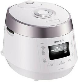 Cuckoo CRP-P1009S White 10-Cup Electric Pressure Rice Cooker