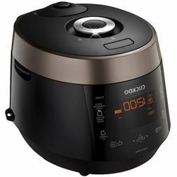 Cuckoo CRP-P1009SB FBA_CRP-P1009SB Pressure Rice Cooker, 15.