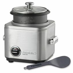 Cuisinart 4-Cup Rice Cooker with Stainless Steel Steamer Non