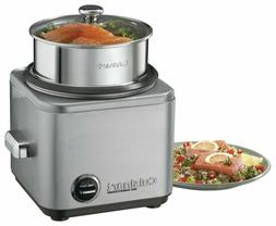 Cuisinart - 8-Cup Rice Cooker - Brushed Chrome