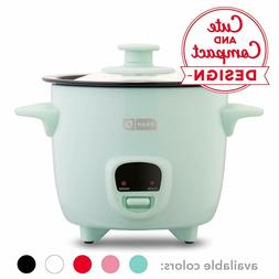 Dash DRCM200GBAQ04 Mini Rice Cooker Steamer with with Remova