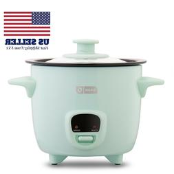 Dash Mini 2-Cup Rice Cooker with Keep Warm Function