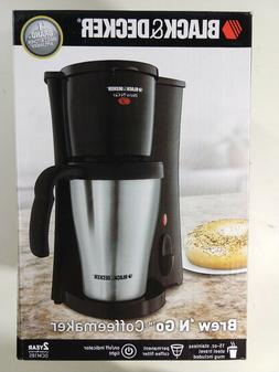 Black & Decker DCM18S Brew 'n Go Personal Coffeemaker with T
