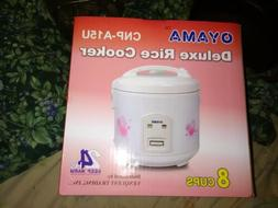 Oyama Deluxe Rice Cooker CNP-A15U Makes 8 Cups