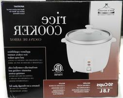 Deluxe Rice Cooker with Non-stick Inner Pot