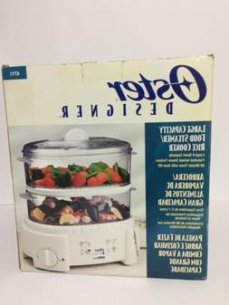 Oster Designer Large Capacity Food Steamer & Rice Cooker