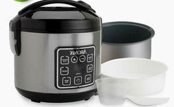 Digital 8-Cups Rice Cooker Timer Food Steamer Vegetable Meat