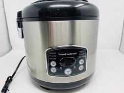 Hamilton Beach - Digital Simplicity Rice Cooker And Steamer