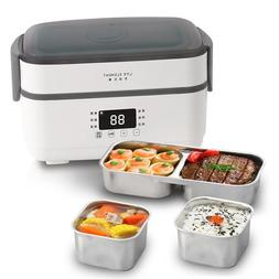 Double-layer Electric Lunch Box Small <font><b>Rice</b></fon