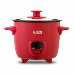 Dash DRCM200GBRD04 Mini Rice Cooker Steamer with Removable N