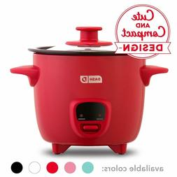 Dash DRCM200GBRD04 Mini Rice Cooker Steamer with with Remova