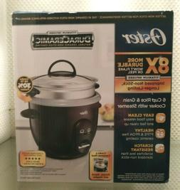 Oster DuraCeramic Titanium Infused 6-Cup Rice & Grain Cooker