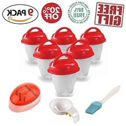 Egglettes Egg Cookers As Seen On TV  NonStick Silicone Hard