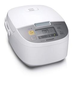 Panasonic Electric 10-Cup Rice Cooker and Multi-Cooker, Whit