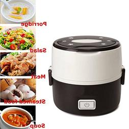 Electric Heating Container Mini Rice Cooker Double Insulatio
