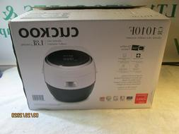 Cuckoo Electric Heating Rice Cooker CR-1010F, Mid Size, Whit