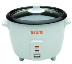 Electric Nonstick Rice Cooker 3-Cup