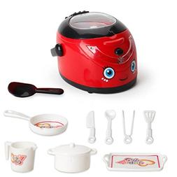 E-SCENERY Electric Play Home Appliances Set for Kids and Toy