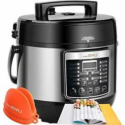 Electric Pressure Cookers 5 Qt Pot, Multifunctional 16-in-1