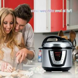 Aucma Electric Pressure Cookers Cooker, 6 Qt 8-in-1 Multi-Us