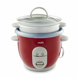 Electric Rice Cooker 6-Cup Non-Stick Pot and Food Steamer Ba