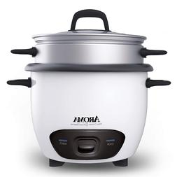 Aroma Electric Rice Cooker And Food Steamer Non Stick Pot St
