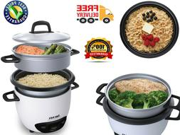 Electric Rice Cooker Food Steamer 6 Cup MultiFunctional Stai