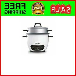 Electric Rice Cooker with Stainless Steel Inner Pot Makes So