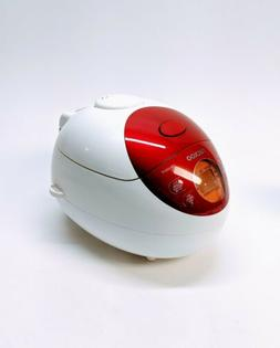 3 Cup Electric Warmer Rice Cooker Color: Red