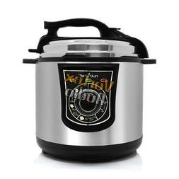 NutriChef Electronic Pressure Cooker Steamer Rice Cooker Eff