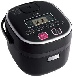 Sharp Electronic Rice Cookers 0.54l Black Type System Ks-c5g