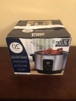 Elite Cuisine 20 Cup Multifunction Deep Fryer Rice Cooker Sl