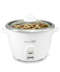 Elite Gourmet ERC-2010 Electric Rice Cooker with Stainless S