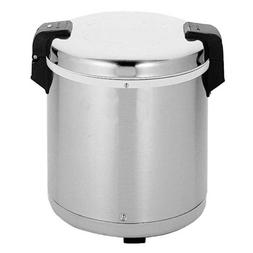 Excellante SEJ22000 Commercial Stainless-Steel 50-Cup Rice W