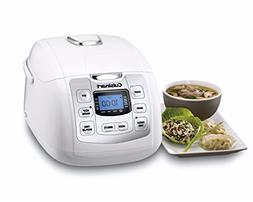 Cuisinart Fuzzy 8-Rice Cooker, White