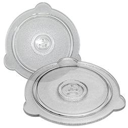 Cuchina Safe Vented Glass Microwave Plate Cover; Perfect Lid