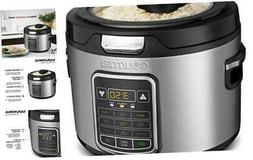 Gourmia GRC970 11-in-1 Digital 20-Cup Rice Cooker - Clear Gl