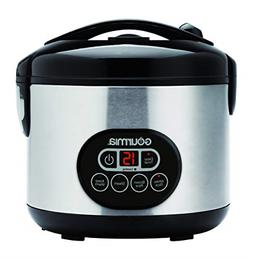 Gourmia GRC770 12 Cup Cooked Rice Cooker and Steamer For Gra