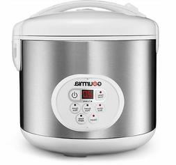 Gourmia GRC870 20 Cup Stainless Steel Digital Rice Cooker an