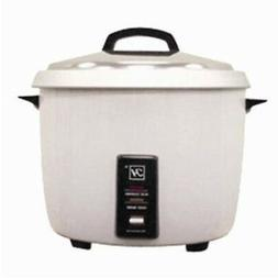 Thunder Group SEJ50000T 30 Cup Rice Cooker-Warmer with Non-S